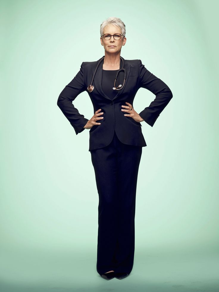 "Scream Queens S2 Jamie Lee Curtis as ""Cathy Munsch"""