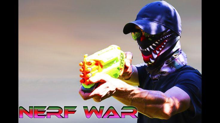 NERF WAR: Gangsters losers Нерф война бандиты неудачники