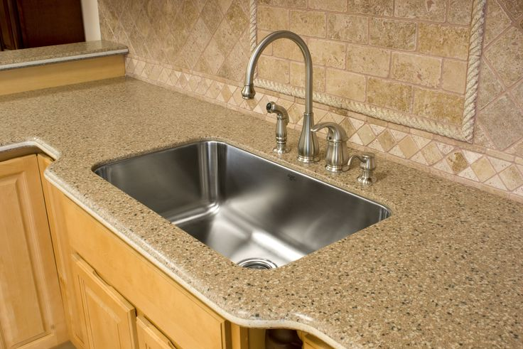 Kitchen Countertops And Sinks Installed