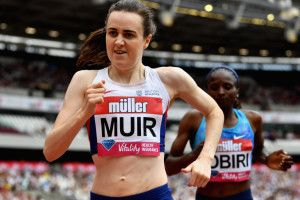 Laura Muir happy with PB after missing out on mile record
