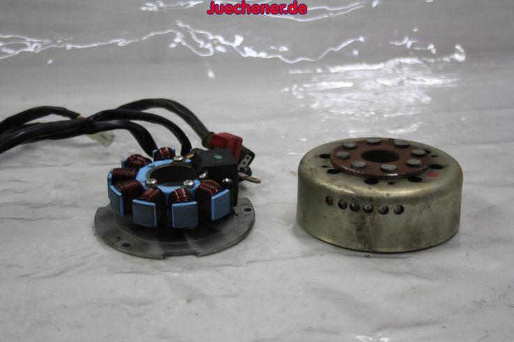Piaggio Hexagon Lichtmaschine Polrad Ankerplatte  #Ankerplatte #Lichtmaschine #LiMa #Polrad #Rotor #Stator