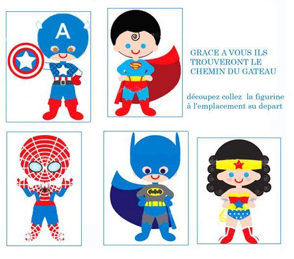 Super héros naïfs...                                                                                                                                                     Plus