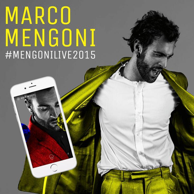 Marco Mengoni - Switzerland: #MengoniLive2015 - App & Tour