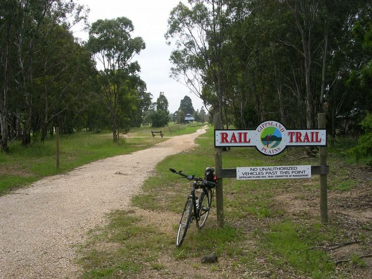 Gippsland Plains Rail Trail, Victoria, Australia.  From near Traralgon to Stratford, 48km.  Road and MTB.