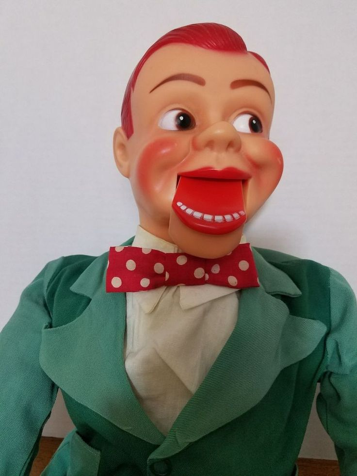 1960's JERRY MAHONEY Ventriloquist dummy doll Paul Winchell by Juno  #JunoNovelty