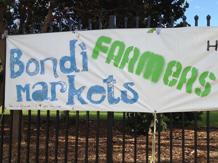 Bondi Farmers Market - A gourmet Saturday Event