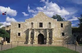 The Alamo, Downtown San Antonio, Texas.