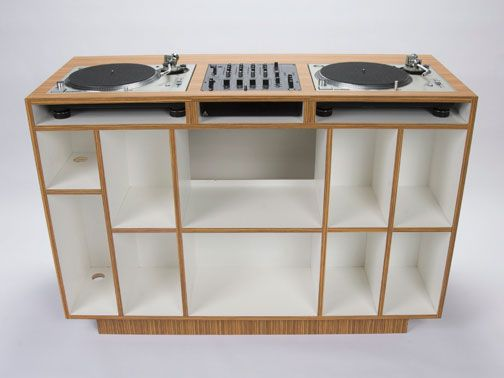 DUAL Los Angeles DJC-02 - DJ console and storage