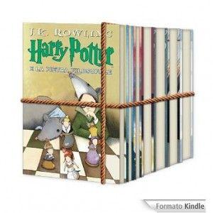 Tutti i libri di Harry Potter con le splendide illustrazioni della nuova serie.