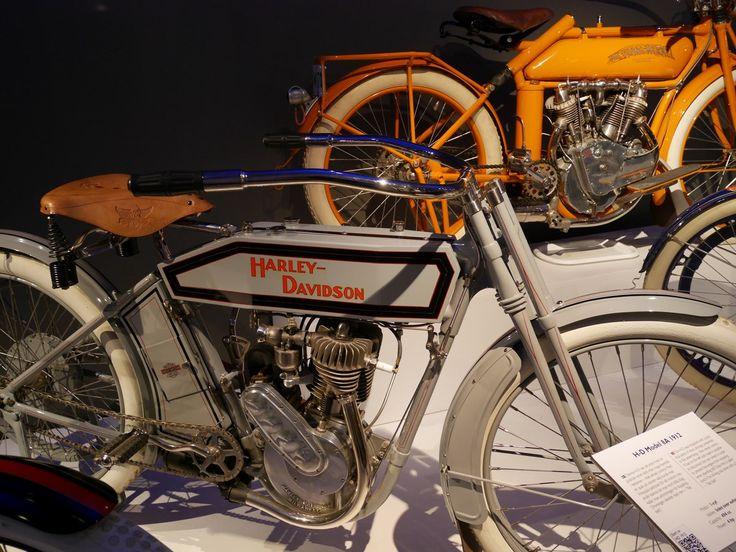 Haley-Davidson 8A 1912 1-cyl 494cc 4hp