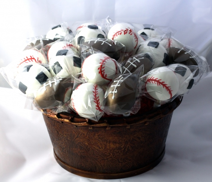 Make these for the hubs!: Baseb Cakes Pop, Baseball Cakes Pop, 1St Birthday Parties, Make Cakes Pop, Cakes Pop Cakes, Cake Pop, Parties Ideas, Sports Cakes, Cakes Ball