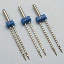 Videotutorial: la aguja doble. Para qué sirve y cómo se usa en la máquina de coser.