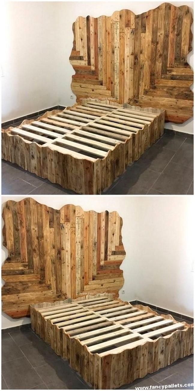 Kitchen Diy Pallet Design Ideas Diy Pallet Bed Wood Pallet Beds