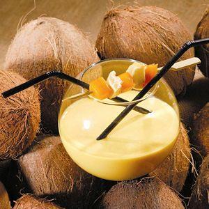 25 recettes de jus de fruits de saison : Cocktail coco, mangue, passion et guimauve - Journal des Femmes Cuisiner