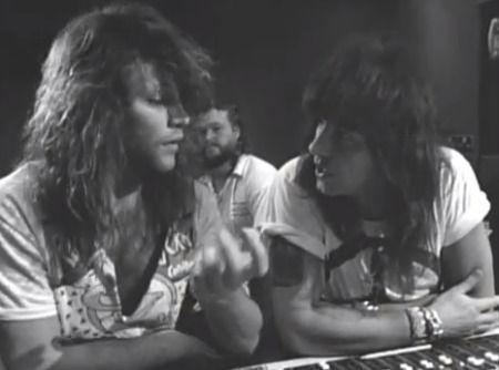 Bon Jovi Sambora BW Jon Bon Jovi Smacks Down Justin Bieber And Richie Sambora