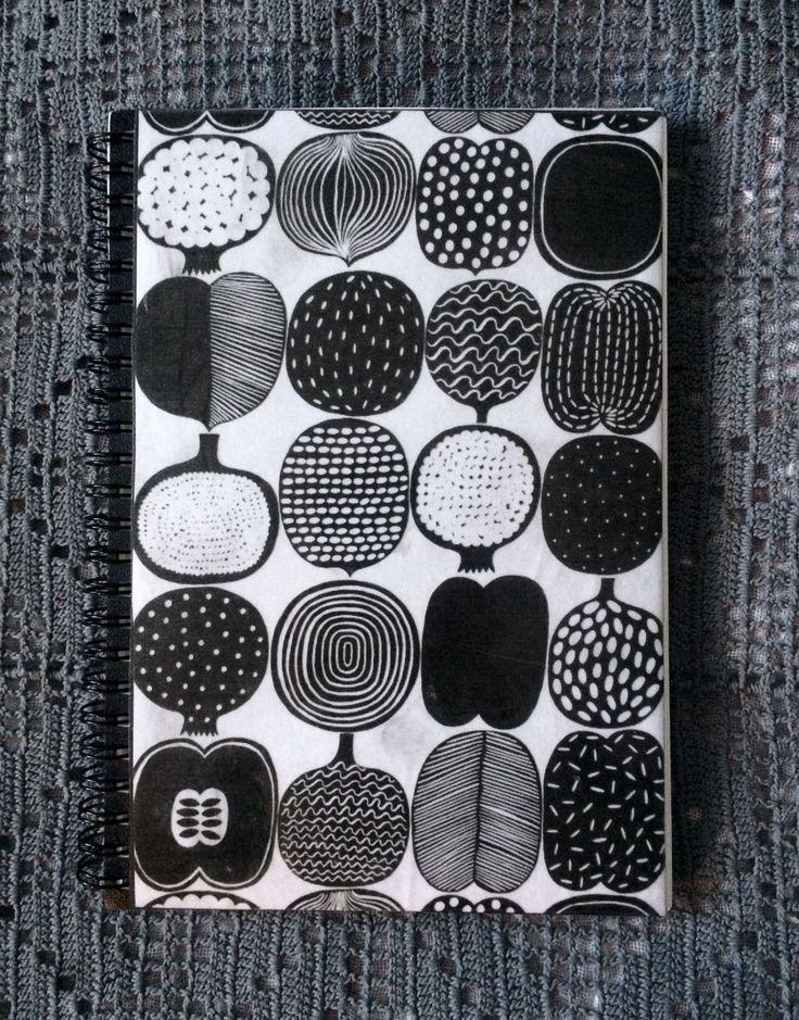 Marimekko Pattern Notebook
