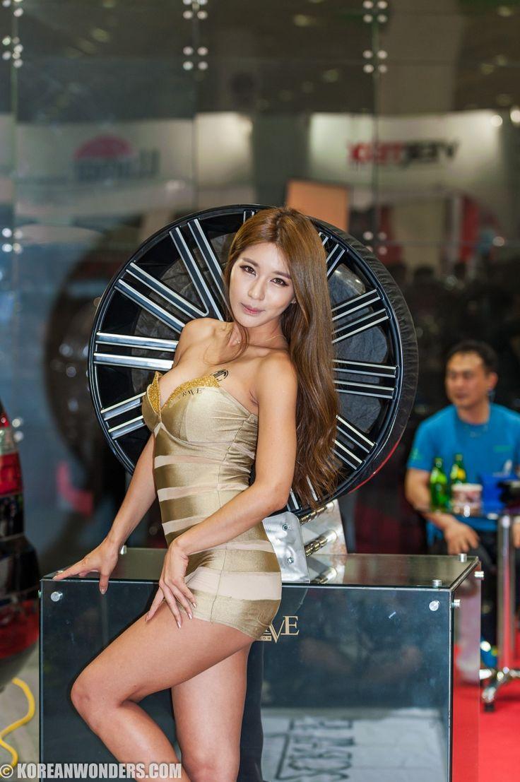 Park Si Hyun At Seoul Auto Salon 2014 Models In Korea