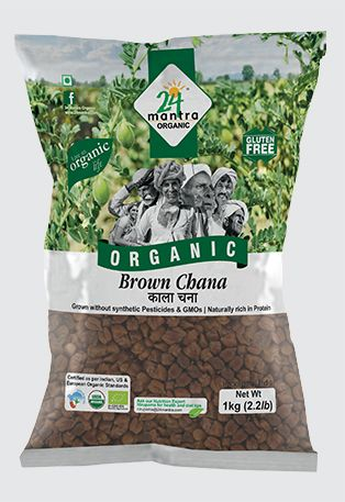 24 Mantra Organic Brown Channa Whole