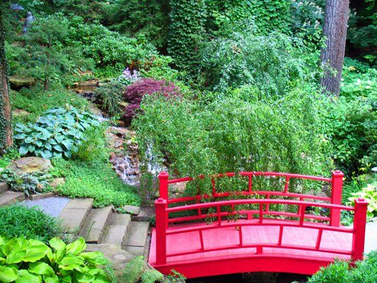 35 best Garden Bridges in Landscape Designs images on Pinterest ...