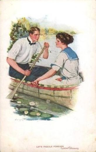 251 best vintage romance images on pinterest vintage images clarence f underwood sciox Gallery