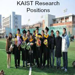 KAIST Research Positions for Foreign Applicants in  South Korea , and applications are  submitted till 8th March 2015 for graduate student and anytime for postdoctoral. KAIST is offering research positions for foreign graduate and postdoctoral applicants for Opto-electro-structural lab, Department of Aerospace Engineering. - See more at: http://www.scholarshipsbar.com/kaist-research-positions.html#sthash.1zEVKOml.dpuf