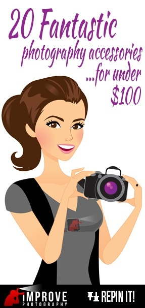 20 fantastic photography accessories for under 100 dollars