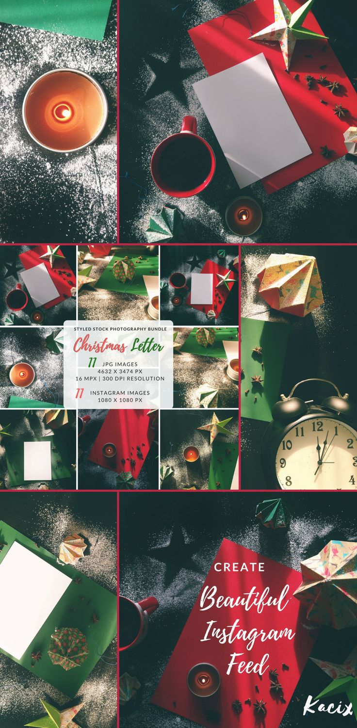 It's time to get your business ready for holidays! Set of 11 Christmas-inspired images, ideal for your products showcase, mood-boards, blog posts, or web sites! +++ #styledshoot #styledstock #flatlay #socialmediamarketing #mockuptemplates #flatlay #christmas
