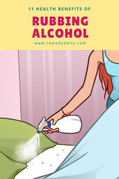 11 health benefits of rubbing alcohol
