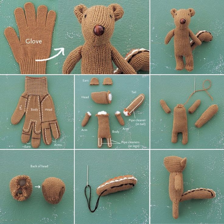 easy to make squirrel out of a glove :) I think I know what I'm getting my brother for Christmas :) :) :)