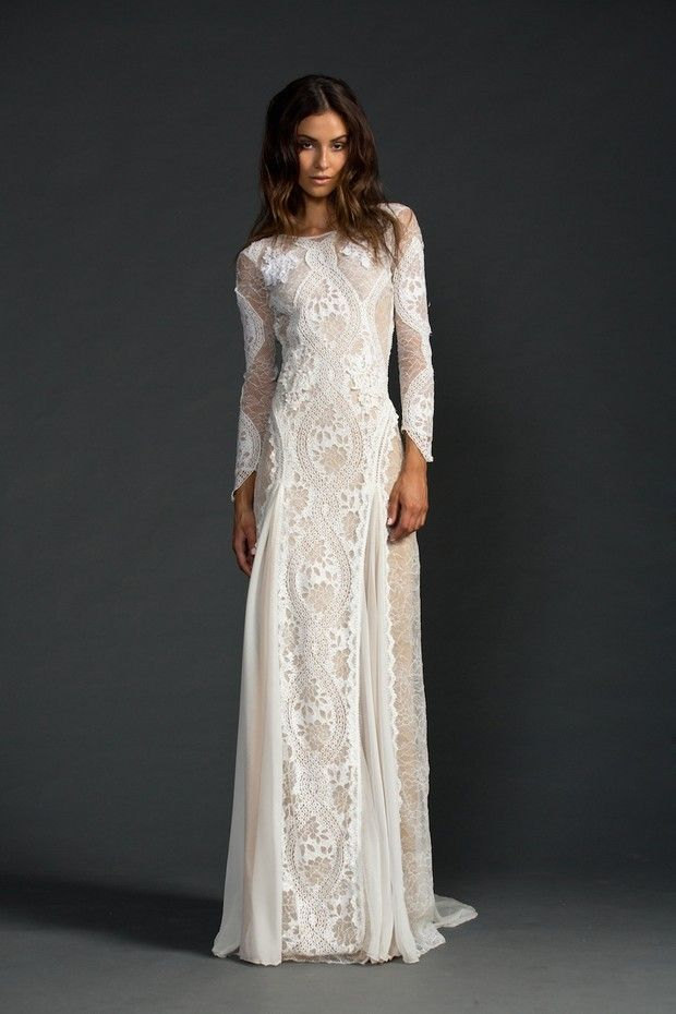 1000 ideas about sleeve wedding dresses on pinterest for Super low back wedding dress