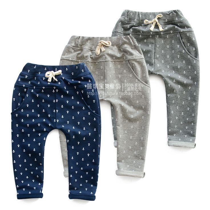 Детские мальчик брюки брюки весна 2014 Осенние дети брюки прилив новорожденных девочек случайные штаны шаровары - Taobao