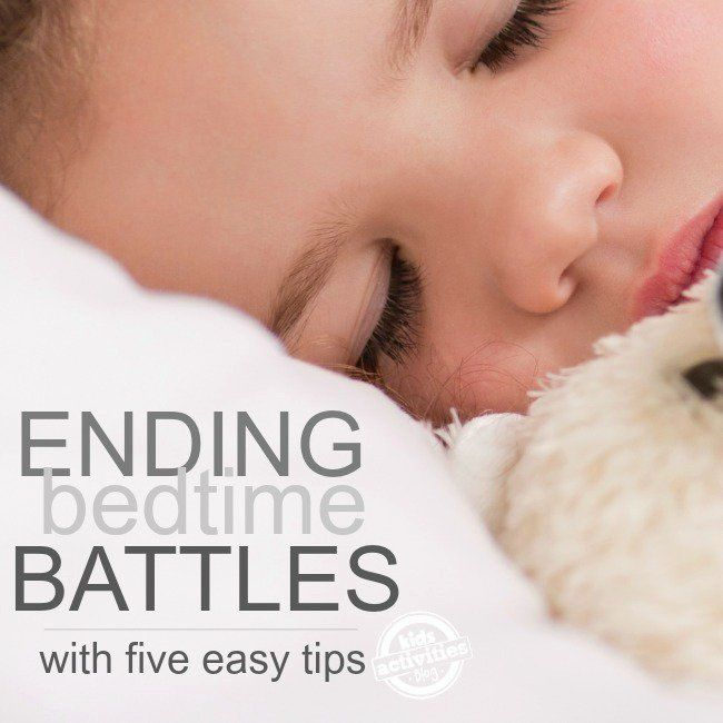 Make nighttime more manageable with these 5 tips for an easier bedtime routine! The bonus tip is awesome for kids of all ages.