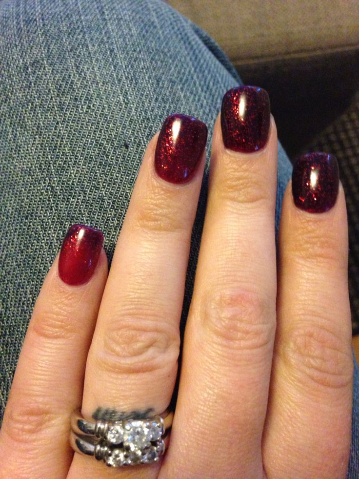 Mood changing gel polish. I currently have this on and it's a gorgeous shade of reds.