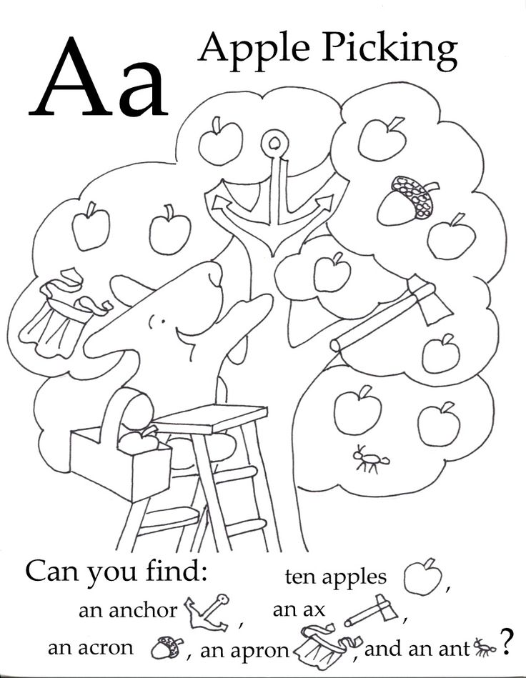 Free Preschool Printables. Every Little Bunny ABC seek and find has 6 objects, starting with the letter featured, hidden in the picture. Find the objects to develope observation skills, practice the alphabet sounds to introduce reading and color in the pictures to practice fine motor skills.