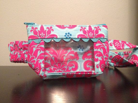 Insulinepomp Pouch roze & Teal
