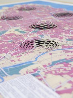 Mona Hatoum.  3-D Cities.