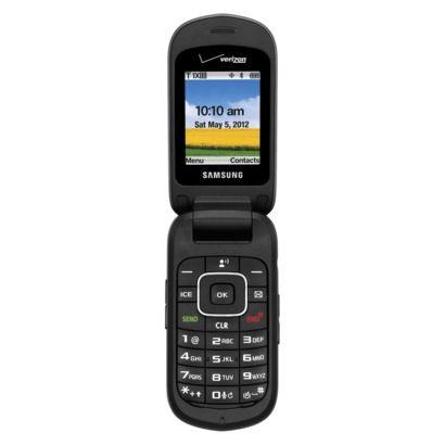 Verizon Samsung U365 PrePaid Cell Phone Black