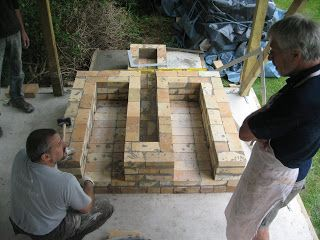how to build a wood fired kiln