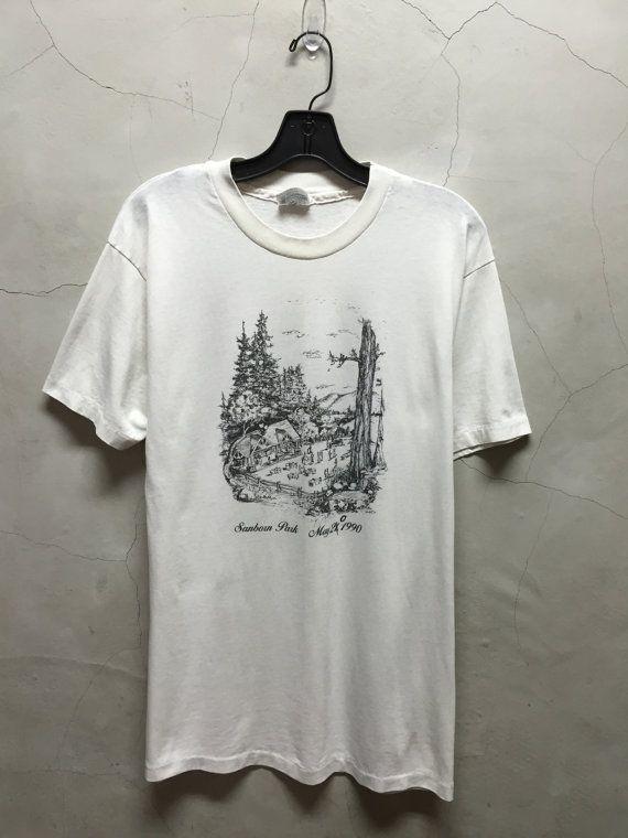 vintage t shirt Sanborn Park 90s 1990 May 20 by imtryingtofocus