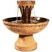 Hurricane Eye Cast Stone Fountain - #2H078   LampsPlus.com