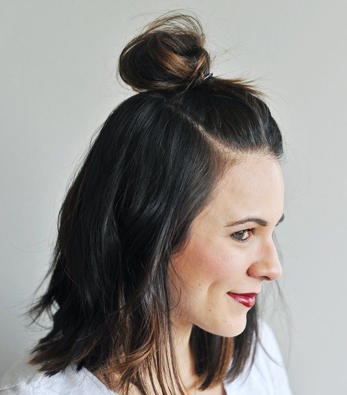 bun styles for hair 50 best images about new hair on shorts 5533