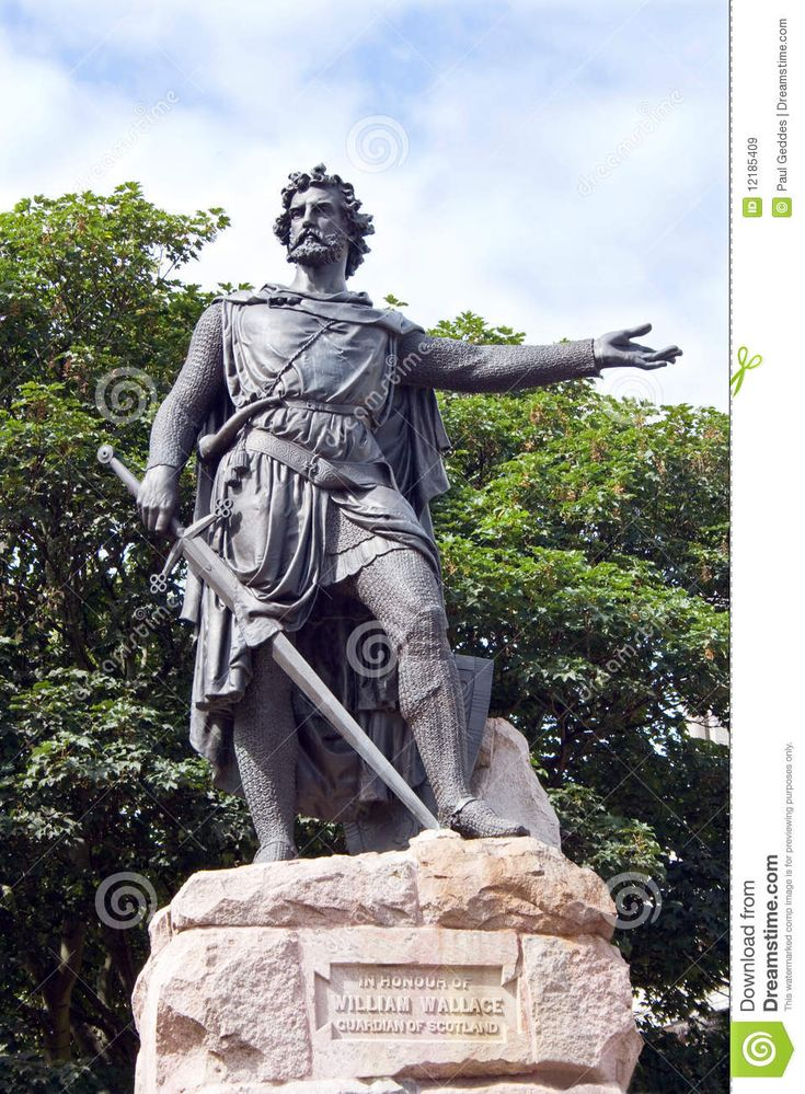 William Wallace - Braveheart Royalty Free Stock Images - Image: 12185409