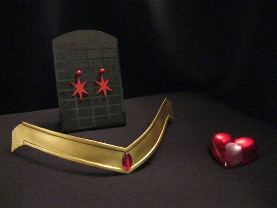 Sailor Mars cosplay accessory KIT by UniqueCosplayProps on Etsy, $36.00