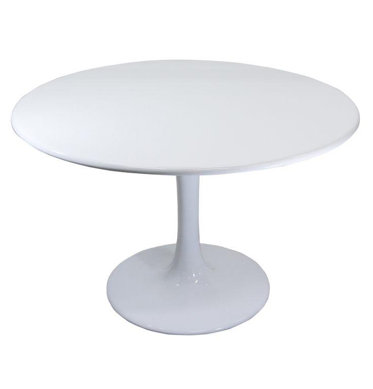 Replica Eero Saarinen Tulip Dining Table 120cm By Eero Saarinen Matt Blat