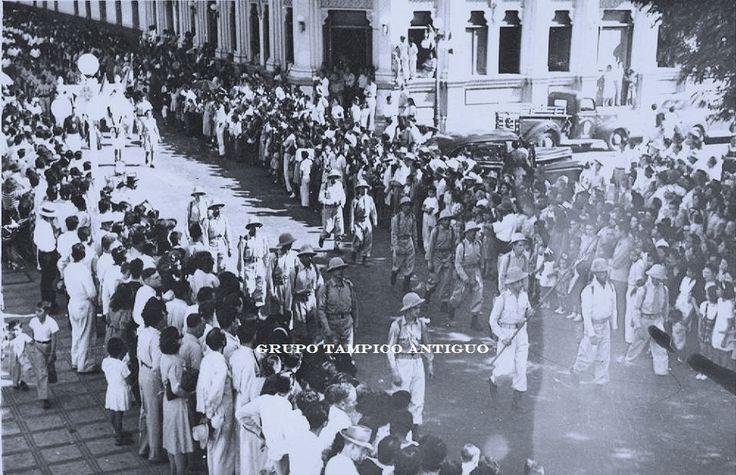 Desfile 20 de Noviembre de 1948