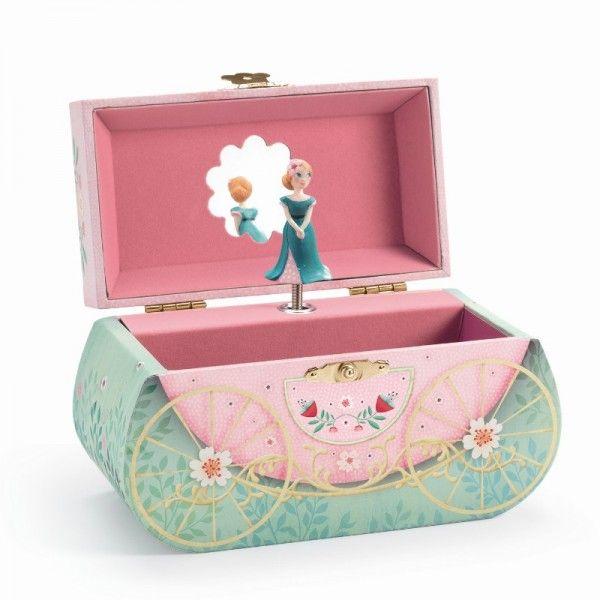 Djeco Spieluhr Kutsche der Prinzessin - Bonuspunkte sammeln, auf Rechnung bestellen, DHL Blitzlieferung!