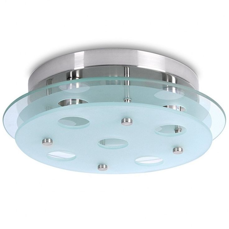 Great Bathroom Chrome Led Bathroom Ceiling Light In Rounded Shape Made LeuchtenDeckenbeleuchtungBadezimmer