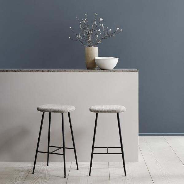 Spine Stool Backless Metal Base Fredericia Furniture