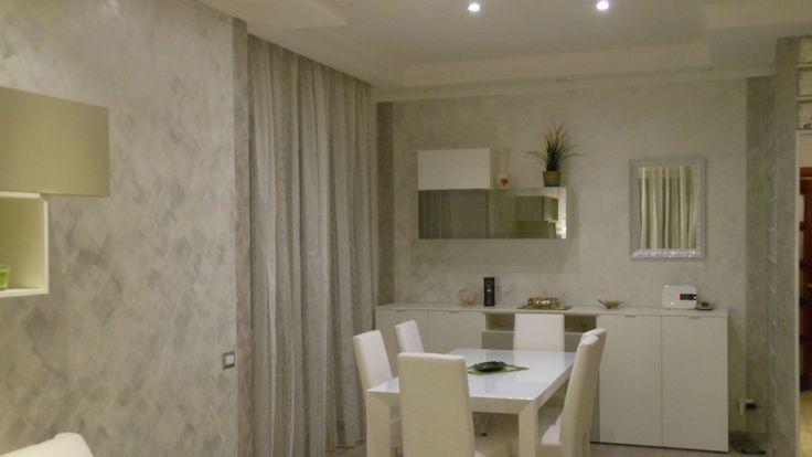 Pittura decorativa per interni cangiante effetto sabbia - Vernici lavabili per cucina ...