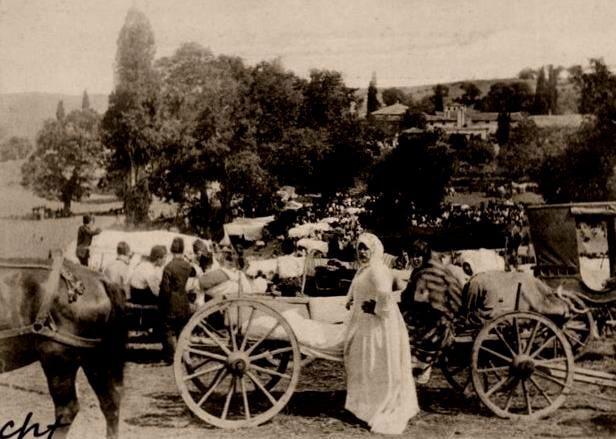 """KADIKÖY  """" Hasanpaşa Çayırı'nda HIDIRELLEZ """"  1900 öncesi"""
